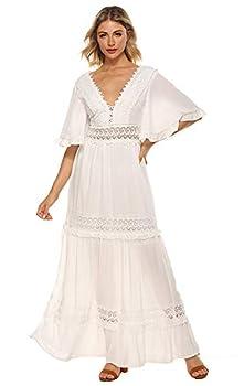 Best boho white maxi dress Reviews