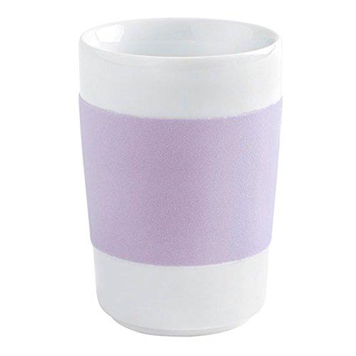 Kahla Maxi 0,35 l Glanzlichter Touch Lavendel Becher, Porzellan, 1,11 x 1,11 x 11,5 cm