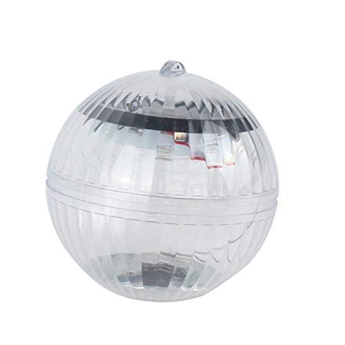 Luz de bola LED con energía solar Luces flotantes impermeables para piscina, estanque, luz nocturna, césped, jardín, decoración, luz - Colorido