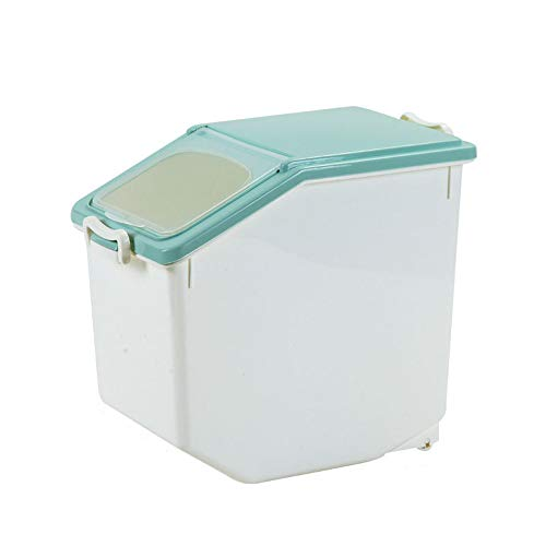 Pet 584621 Aufbewahrungsbox für Tierfutter aus Kunststoff Aufbewahrungsbox für Tierfutter aus Kunststoff - Trockenfutterbehälter für Hunde, Katzen, Vögel, Fische,S