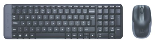 Logitech 920-003161 Full Size Combo Windows 7, Zwart