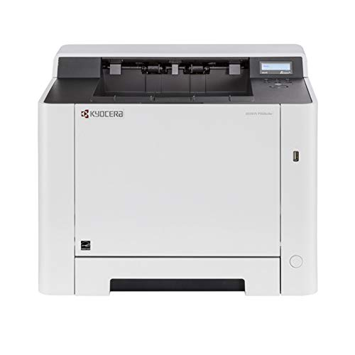 Kyocera 1102RB2US0 ECOSYS P5026cdw Color Network Printer, 5 Line LCD Screen with Hard Key Control Panel, Up to Fine 1200 DPI Print Resolution, Wireless and Wi-Fi Direct Capability