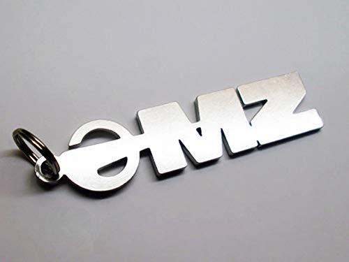 Schlüsselanhänger Emblem MZ ETZ ES TS MuZ Anhänger