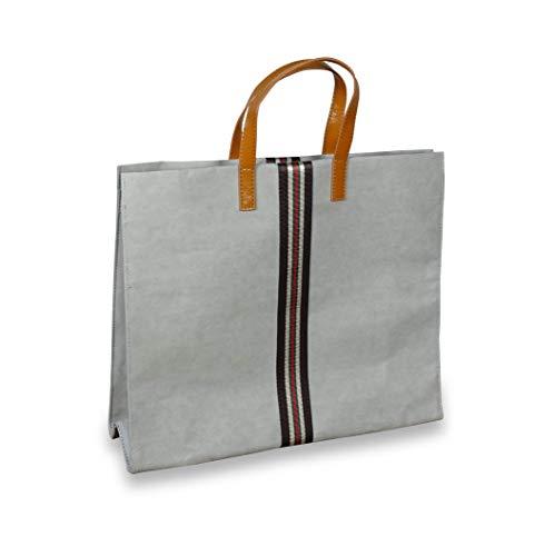 lila Tulpe - Henkeltasche Joyce - Businesstasche - Damen Handtasche aus Waschbaren Papier - Leicht, Reißfest und Wasserbeständig