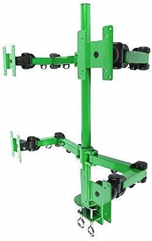 Green Desk Mount Max 66% OFF Stand 4 Monitors Monitor Improvement Home shopping arm M
