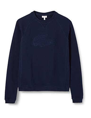 Lacoste Jungen Sj4823 Sweatshirt, Blau (Marine 166), 3 Jahre (Herstellergröße: 3A)