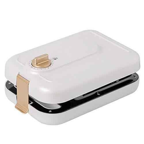 El fabricante de gofres eléctricos, el fabricante de waffle del desayuno se calienta uniformemente en ambos lados, el recubrimiento antiadherente es fácil de limpiar para la cocina liuchang20