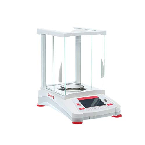 Ohaus Adventurer Precision Scale AX223, Capacity 220g x 1g, Digital Precision Scale, Stainless Steel Pan Precision Lab Scale for Calibration, Pharmacy, Industrial, Chemically Use