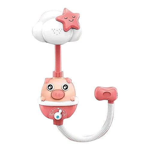 Fancy Combs Ducha B Especial para la práctica de la Ilustración de baño del baño del bebé Juguetes eléctricos Cerdo Aerosol de la Ducha de Agua Grifo de la bañera para baño # G30
