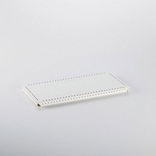Swissmobilia Metallelement zwischentablar pour USM Haller 500 x 350 Blanc rAL 9010