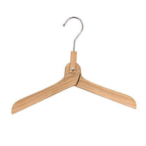Suit Hangers Adult Kleerhangers Houten Antislip Ontwerp Natuurlijke Space Saving (set van 5) (Color : Style1)