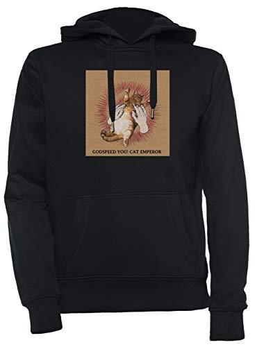 Luxogo Godspeed You! Black Emperor T-Shirt Unisex Nero Felpa con Cappuccio Uomo Donna Unisex Black Jumper Men's Women's