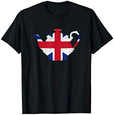 Tea Top British Teapot T Shirt product image