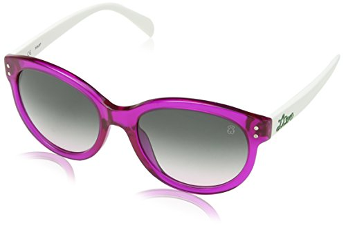 TOUS STO870-5402GR Gafas de sol, Shiny Fuchsia, 54 para Mujer