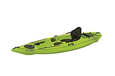 Evoke Vue 100 Sit On Recreational Kayak, Citron