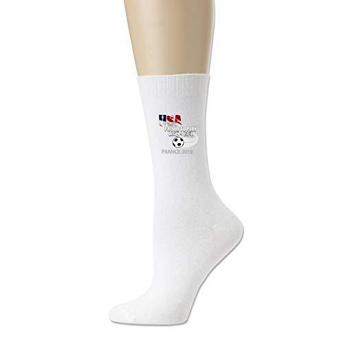 Cotton Socks for Men and Women Usa Womens Soccer Kit France 2019 Girls Football Fans Novelty Sock Unisex