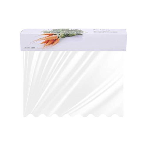 Bestonzon Plastique Nourriture film alimentaire avec toboggan Cutter (12000 x 30 cm)