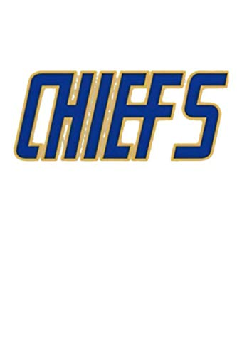 Slap Shot Charlestown Chiefs Hanson Brothers White Notebook: (110 Pages, Lined, 6 x 9)