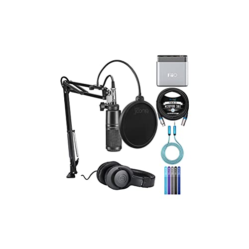 Audio Technica AT2020PK Vocal Microphone Pack for Streaming/Podcasting...