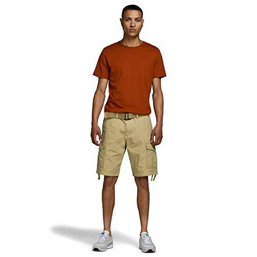 Jack & Jones Jjicharlie Jjcargo Shorts AKM 803 Pantalones Cortos Cargo, Kelp, M para Hombre
