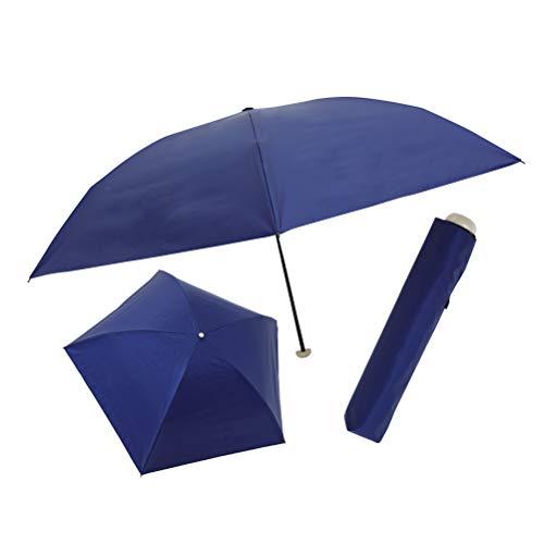 世界最軽量クラスの完全遮光 晴雨兼用傘 遮光率100% UVカット率99.9% ネイビー