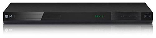 LG LG-DP842H All Multi Region Free HDMI DVD Player 1080p Up-Scaling with USB Plus Direct Recording & Playback PAL NTSC, Remote, Black