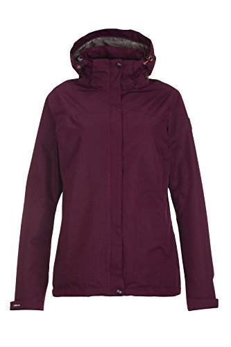 Killtec Damen Inkele Outdoorjacke, Pflaume, 38