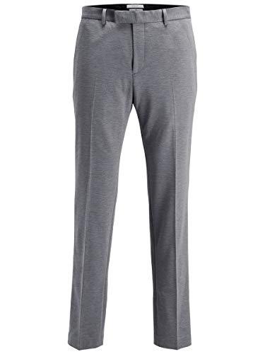 Jack & Jones Jprsteven Trouser STS Pantalon De Costume, Gris (Light Grey Melange), 50 Homme