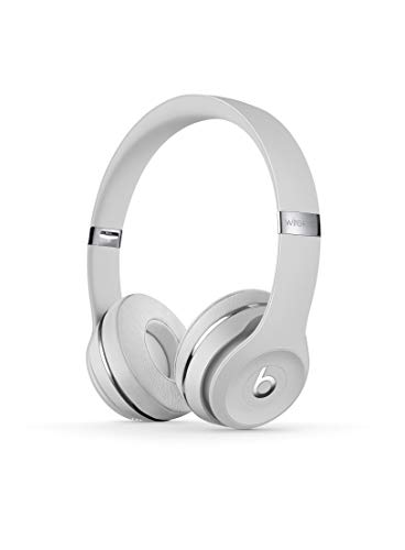 Beats Solo3 Wireless On-Ear Headphones - Apple W1 Headphone Chip, Class 1 Bluetooth, 40 Hours Of Listening Time - Satin Silver (Previous Model)