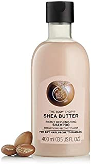 The body shop shea butter shampoo for dry hair, prone to damage 400ml