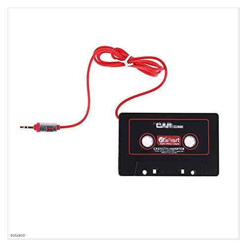 WANSHIDA QiQi Shop Universal 3.5mm Jack Plug Cassette Cinta Cinta Adaptador Cassette Convertidor de Reproductor de MP3