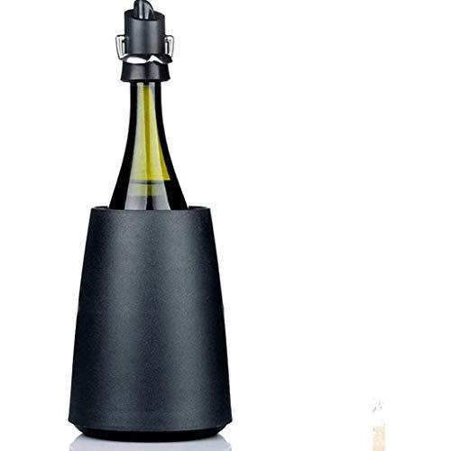 TJLSS Enfriador de Vino Cubo - Aislamiento del refrigerador de Vino/champán Cubo Mantiene el Vino frío