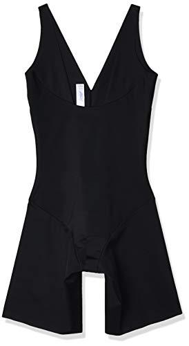 Leonisa Open Bust Seamless Full Shapewear Bodysuit for Woman Black