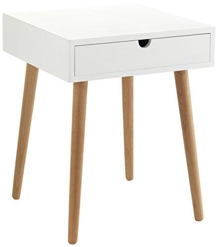 Contemporary Wood Mesita De Noche Kyra 40x40x50 cm