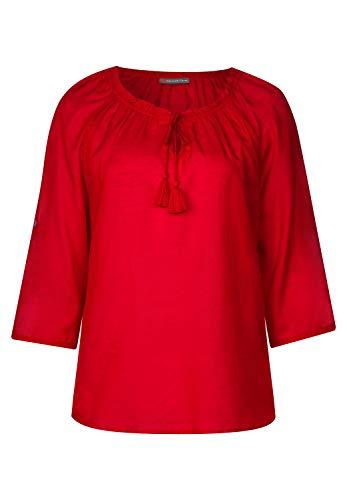 Street One dames transparante tuniek blouse