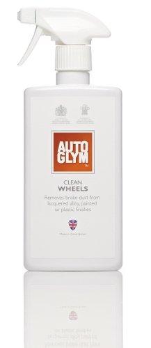 Autoglym Kit de nettoyage personnalisé pour jantes en alliage de voiture/moto 500 ml + brosse pour roue offerte.