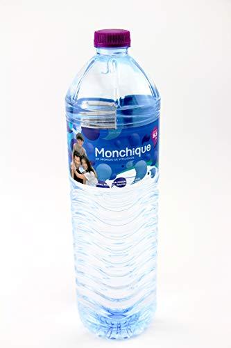 Agua Mineral Alcalina de Monchique Botella 1,5Litros ( pack de 6 botellas de 1.5 litros ) Portugal