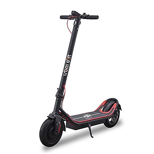 YREIFAG Patinete Eléctrico, Scooter Eléctrico Velocidad Máxima 25km/h | Alcance 45KM | Motor Brushless 36V 350W 3 Modos de Velocidad Diseño Plegable para Adultos