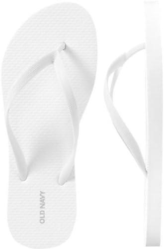 Old Navy Classic Flip Flops 8-White