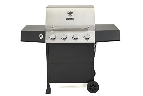 Cuisinart CGG-7400 Full Size Gas Grill, Four-Burner