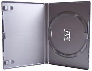 Amaray 5 Cajas para DVD//CD//BLU Ray en Embalaje de la Marca Dragon Trading Color Negro