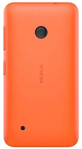 Nokia Custodia Rigida Incastrabile per Nokia Lumia 530 - Arancione
