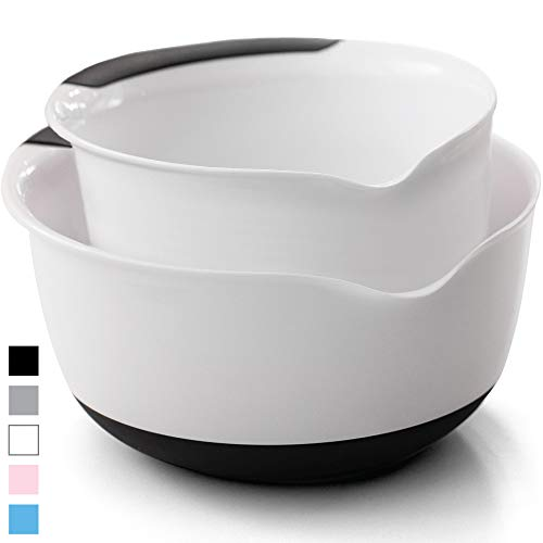 Slip Resistant Mixing Bowls x 2