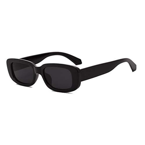 NJJX Gafas De Sol Rectangulares Pequeñas Para Mujer, Gafas...