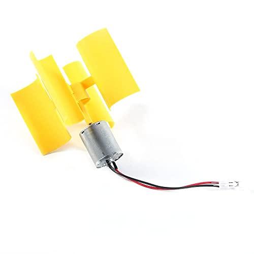 YeenGreen Turbina de Viento Mini, Electricidad Generador de Viento, Generador Vertical Mini,...