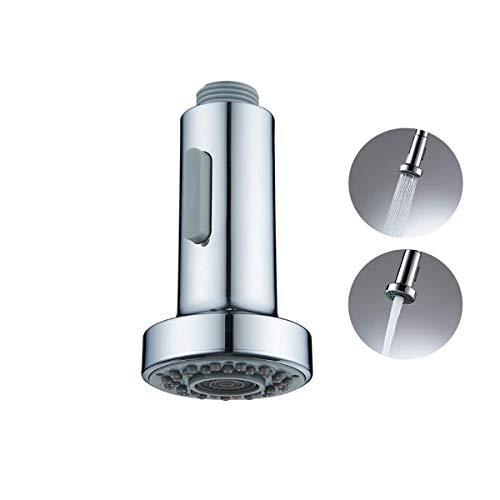 La cocina del aerosol Head - 2 Funciones de repuesto o recambio de múltiples funciones Boquilla cabeza extraíble para fregadero de cocina Tap, Tap aerosol cabezal universal G 1/2