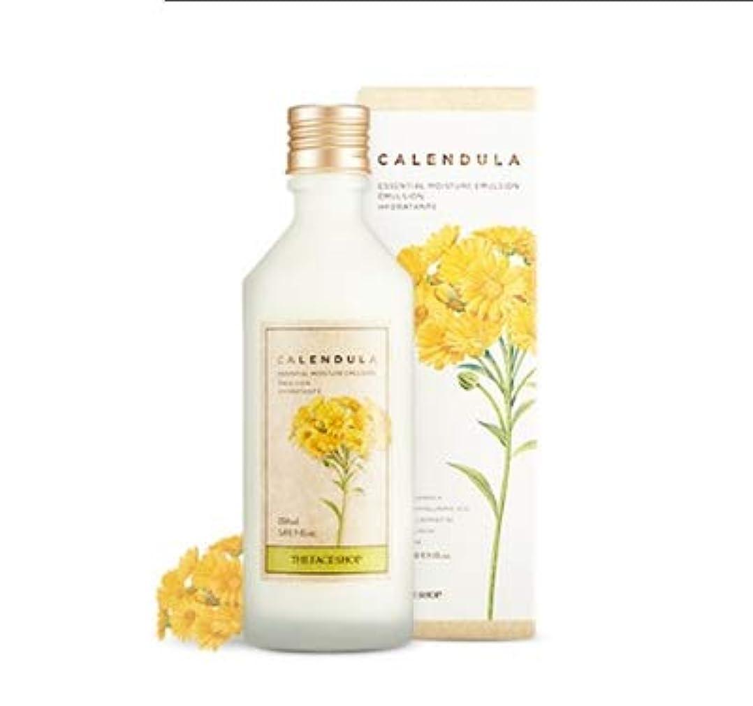 排他的熱狂的なカポックTHE FACE SHOP Calendula Essential Moisture Emulsion ザ?フェイスショップカレンデュルラエッセンシャルモイスチャーエマルジョン [並行輸入品]