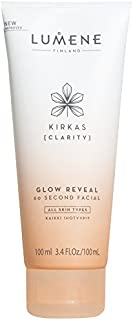 Lumene Kirkas Clarity Glow Reveal 60 秒面部,3.4 液体盎司