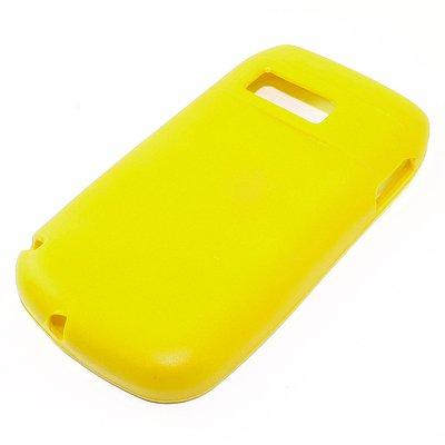 Custodia in silicone per tutti i modelli in tutti i colori, yellow, Nokia: E6