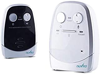 Nuvita 3013 Planet - Escucha Bebes – Intercomunicador Bebe Tecnología Tule Ecológica con Baja Emisión de Ondas - Autonomía de hasta 90 Horas – Carga USB – Alcance de 600 Metros - Marca Europea